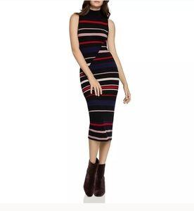 BCBGeneration Black Midi Sweater Dress